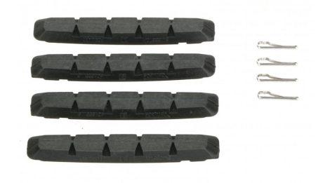 SwissStop RX Plus V-fékhez fekete csak gumi 4 db