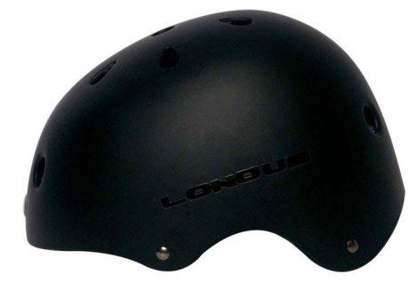 Longus BMX fekete bukósisak L/XL