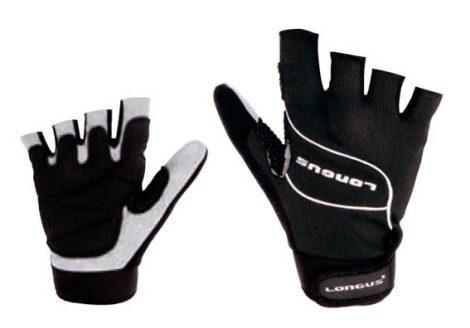 Longus MTB Pro rövid kesztyű fekete