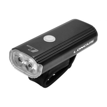 Longus 800lm ledes első lámpa USBs