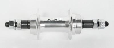 Sunrace HBM45 menetes 6/7s hátsó agy, hagyományos tengellyel [ezüst, 36 L]