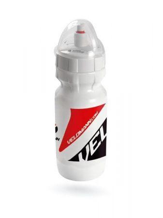 Velomann One Touch 500 ml kulacs [fehér-fekete-piros, 500 ml]