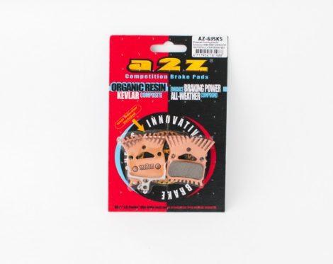 A2Z AZ-635KS hűtőbordás fékpofa tárcsafékhez