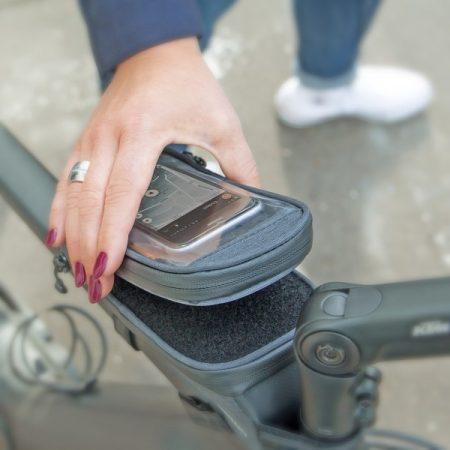 SKS Traveller Smart táska felsőcsőre [fekete]