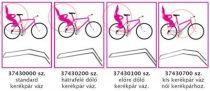 Okbaby tartórúd gyermeküléshez lapos nyeregváz-csöves kerékpárhoz (37430200)