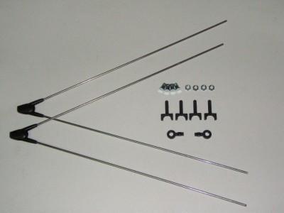 SKS ASR sárvédőrögzítő pálca szett (első) 8359
