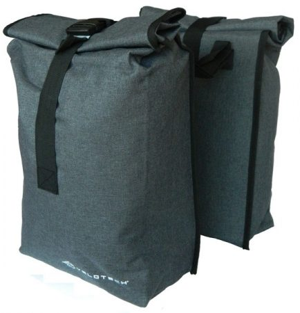 Velotech kétrészes csomagtartótáska