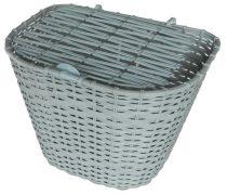 Szürke műanyag első kosár