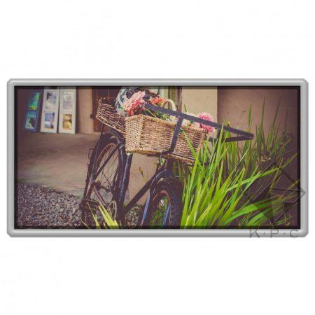Flower basket hűtőmágnes