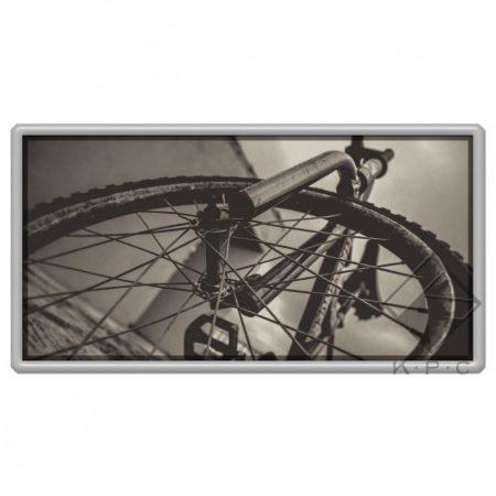 Bike fork hűtőmágnes