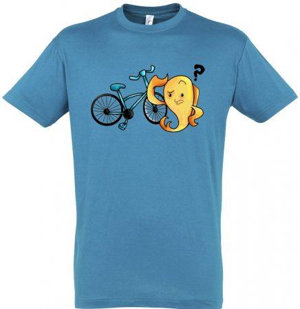 Fishing and riding férfi póló több színben