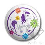 KPC Pony 01 kitűző