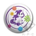 KPC Pony 02 kitűző