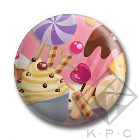 KPC Cupcake 02 kitűző