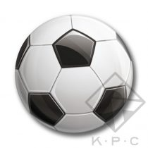 KPC Goal 03 kitűző
