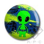 KPC Ufo 01 kitűző