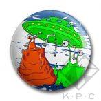 KPC Ufo 02 kitűző