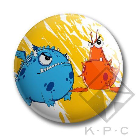 KPC Ufo 03 kitűző