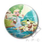 KPC Puppy Love 03 kitűző