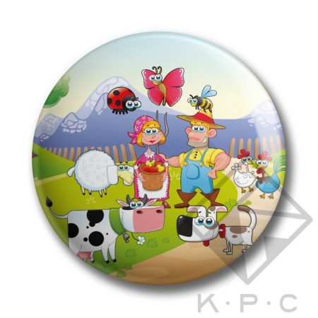 KPC My Little Farm 02 kitűző