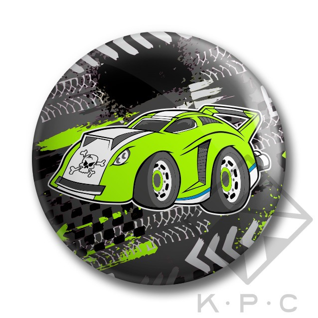 KPC Turbo 02 kitűző - KerékpárCity Bicikli Bolt   Kerékpár Webshop 9644945956