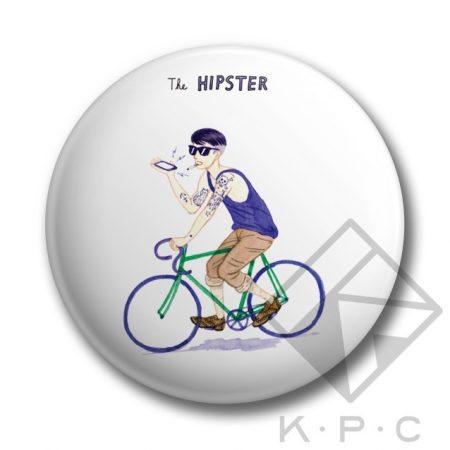 Hipster kulcstartó