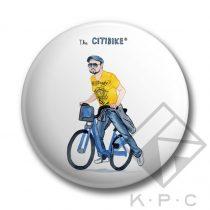 Citybiker kulcstartó
