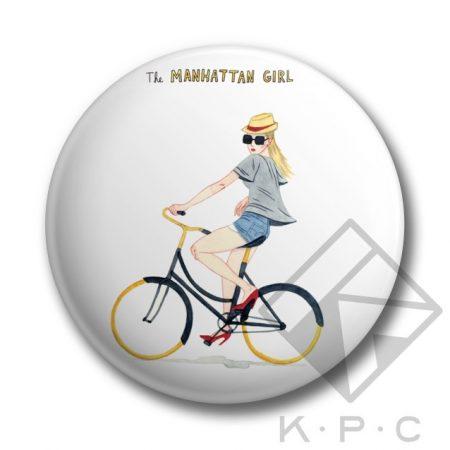 Manhattan girl kulcstartó
