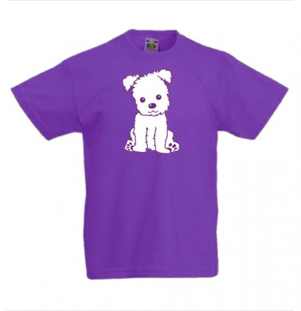 d69a16ce80 Happy Puppy gyerek póló több színben - KerékpárCity Bicikli Bolt & Kerékpár  Webshop