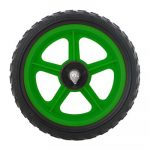 """Koliken műanyag első kerék 12"""" zöld"""