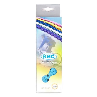 KMC fixi lánc kék