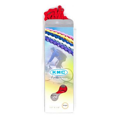 KMC fixi lánc piros