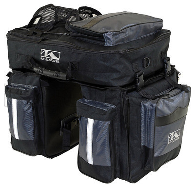 M-Wave 3 részes csomagtartó táska
