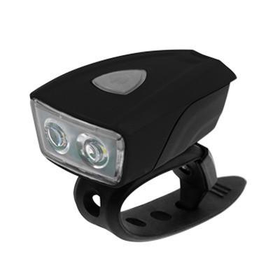 Koliken USB 2 ledes első lámpa fekete