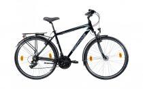 Gepida Alboin 200 férfi trekking kerékpár 48 cm Fekete
