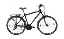 Gepida Alboin 200 férfi trekking kerékpár 56 cm Fekete