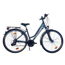 Gepida Alboin 200 női trekking kerékpár 44 cm Grafit