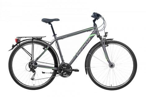 Gepida Alboin 200 PRO férfi trekking kerékpár 56 cm Grafit