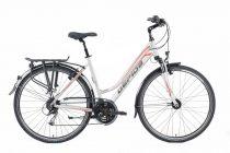 Gepida Alboin 200 PRO női trekking kerékpár 44 cm Fehér