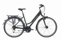 Gepida Alboin 200 PRO női trekking kerékpár 48 cm Fekete