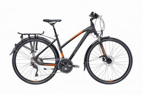 Gepida Alboin 500 női trekking kerékpár 48 cm Fekete
