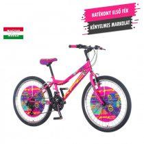 KPC Magnito 24 rózsaszín gyerek kerékpár