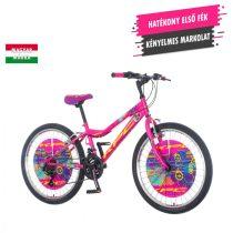 KPC Magnito 24 lány rózsaszín gyerek kerékpár