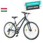 KPC Terra Lady női crosstrekking kerékpár Fekete-Menta 1280114