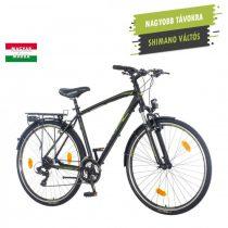 KPC Terra Man férfi trekking kerékpár Fekete-Zöld 1280115