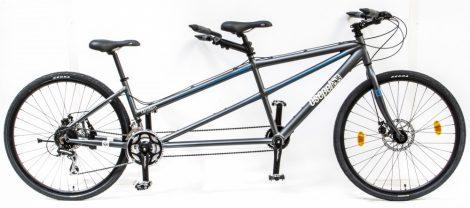 Schwinn Csepel Tandem kerékpár Grafit teszt kerékpár