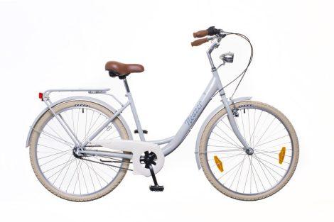 Neuzer Balaton Prémium 28 1 seb. városi kerékpár Szürke