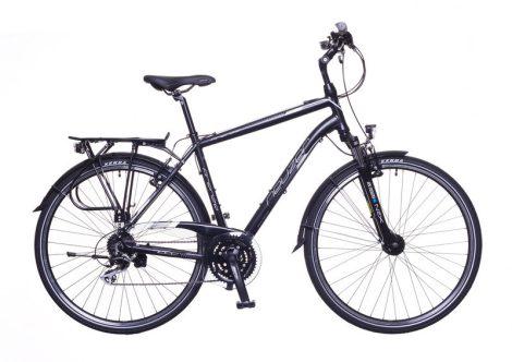 """Neuzer Firenze 200 férfi 19"""" trekking kerékpár Fekete-Fehér"""