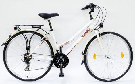 """Schwinn Csepel Landrider női 21 seb. trekking kerékpár 19"""" Fehér"""