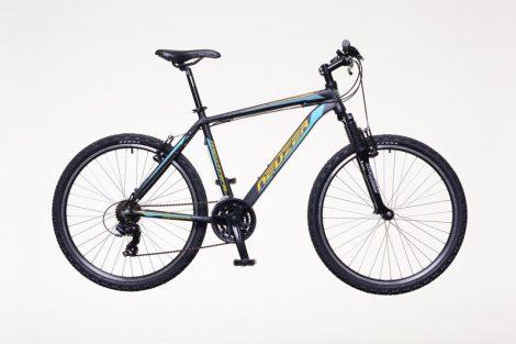 """Neuzer Mistral 30 férfi 19"""" MTB kerékpár Fekete-Sárga"""